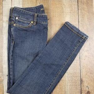 Michael Kors Slim Leg Medium Wash Jeans BX24